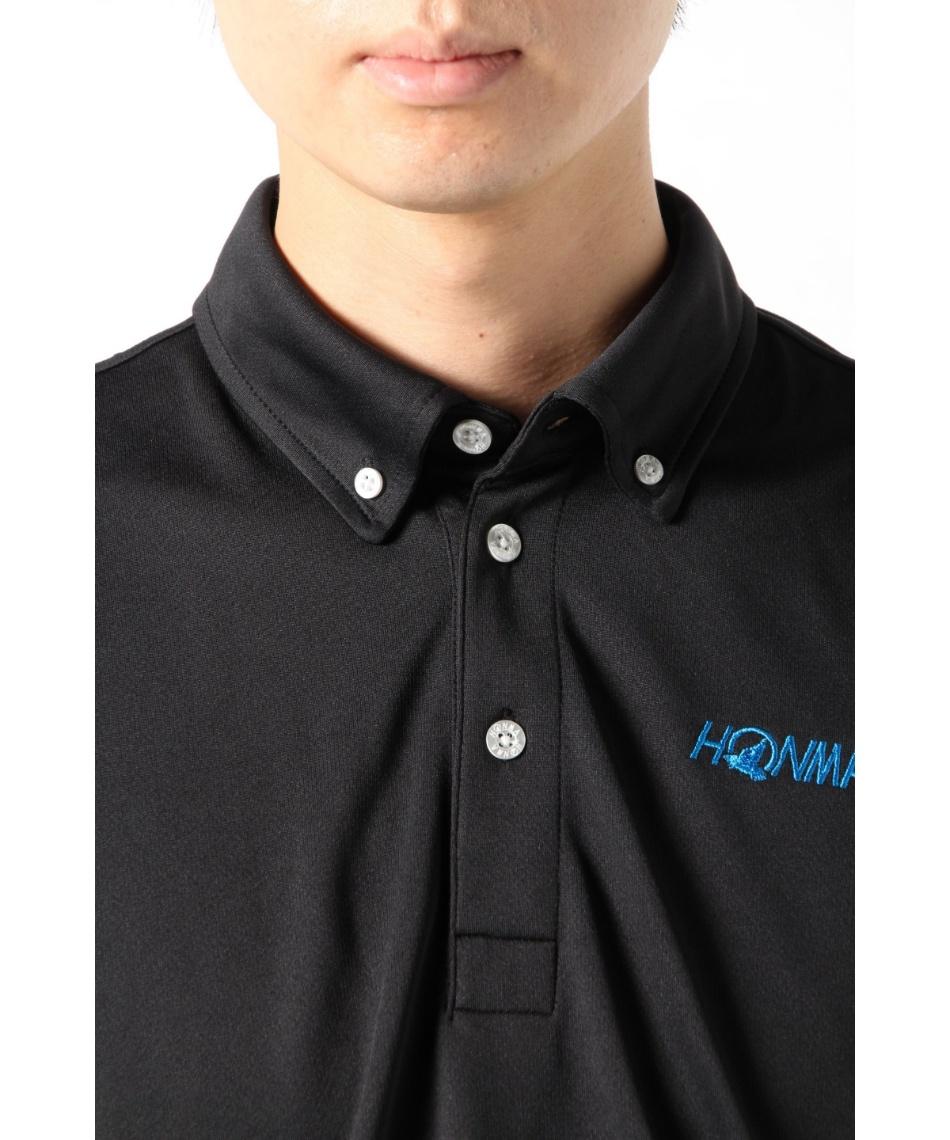 本間ゴルフ(HONMA) ゴルフウェア ポロシャツ 半袖 2枚セット ボタンダウン半袖ポロシャツ 031-733132 【2020年春夏モデル】