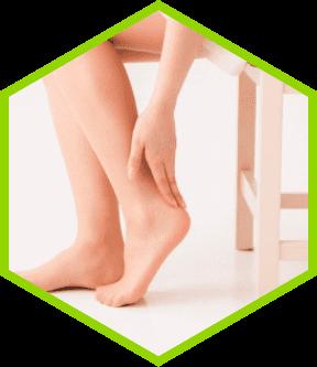 足のお悩み タコやマメ、靴擦れで足が痛くなる。