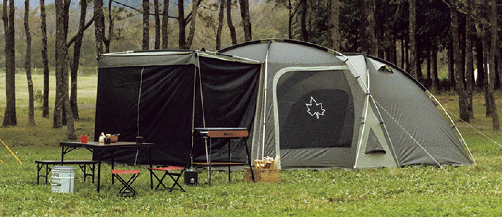 キャンプ特集