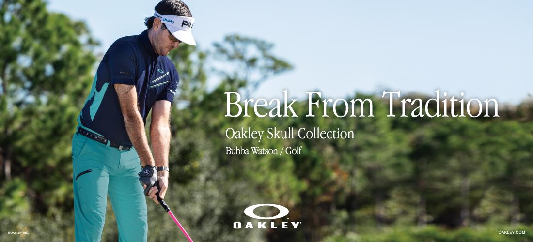 オークリー ゴルフウェアバナー