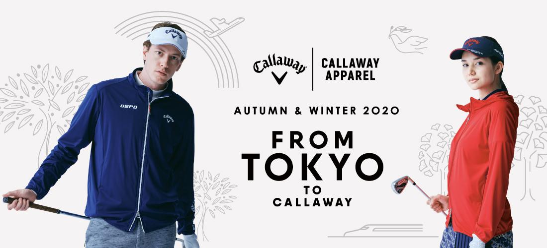 Callaway apparel Autumn & Winter Collection 2020