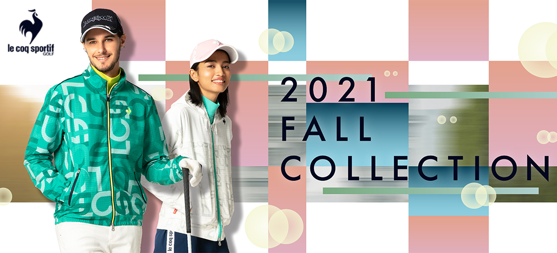le coq sportif golf Fall & Winter Collection 2021