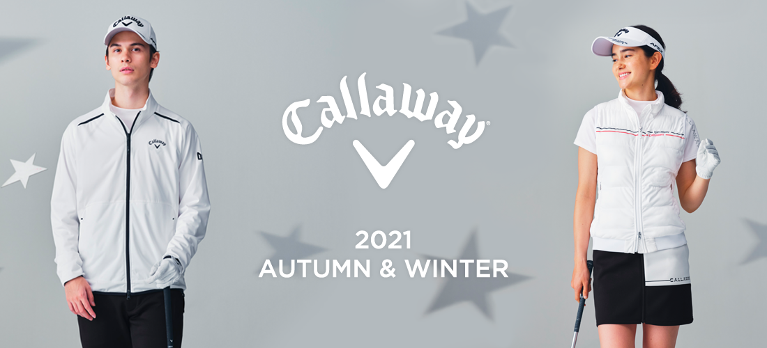 Callaway apparel Fall & Winter Collection 2021