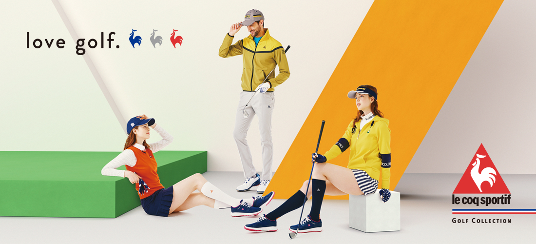 le coq sportif golf Fall & Winter Collection 2020