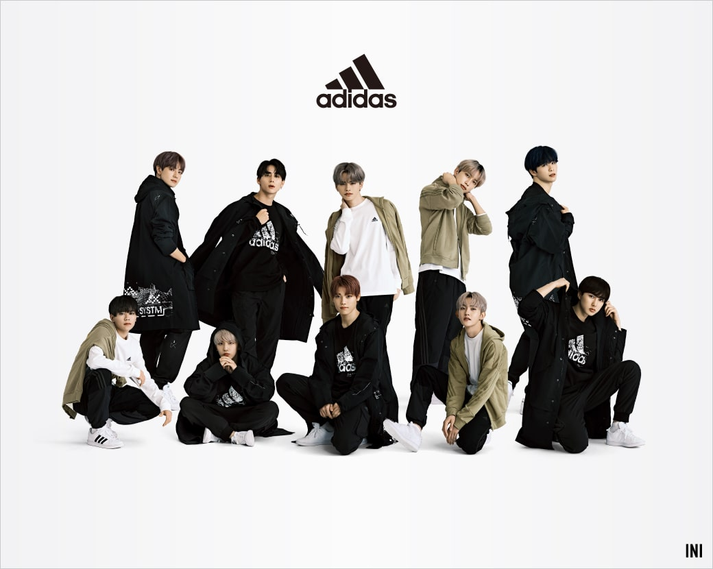 adidas INIコラボキャンペーン